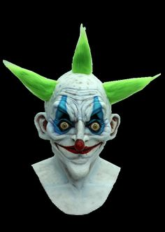 This Old Clown Can Look Right Through To Your Soul With His Piercing Stare. He's Not Here To Entertain, But To Laugh At Your Pain And Sorro...