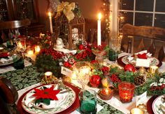 christmas tablescapes | Christmas Tablescape | Flickr - Photo Sharing!