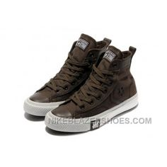 Brown CONVERSE High Tops Chocolate All Star Canvas Shoes Discount AhpEw fde59ba72