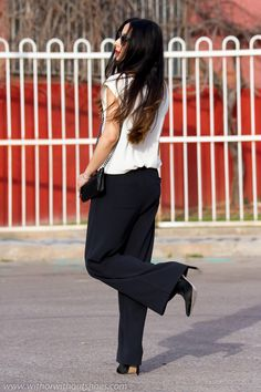 Palazzo Pants   With Or Without Shoes - Blog Moda Valencia Tendencias