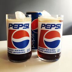 Pepsi Cola Drinking Glass