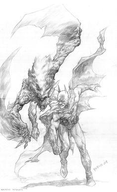 1000+ images about DC - Man-Bat on Pinterest | Batman vs ... Manspider Vs Manbat