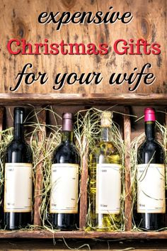 20 Expensive Christmas Gifts for Your Wife - Unique Gifter wife christmas ideas Christmas Present For My Wife, Gifts For My Wife, Christmas Gift For You, Christmas Mom, Presents For Mom, Homemade Christmas Gifts, Christmas Presents, Christmas Ideas, Mom Gifts