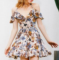 Summer #Halter #Dress