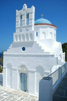 Panagia Poulati church Sifnos island Cyclades Greece