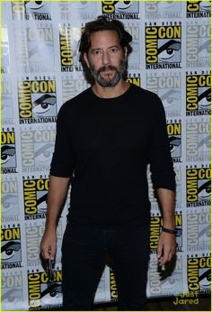 Henry Ian Cusick at the Comic-Con S2016