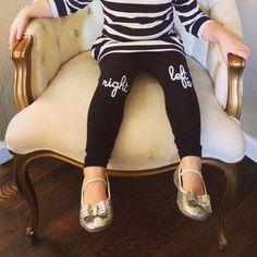 Right Left (Kids) Leggings - hello apparel