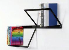 Minimalist bookshelf from the Brooklyn-based Ana Linares Design.  $160.00