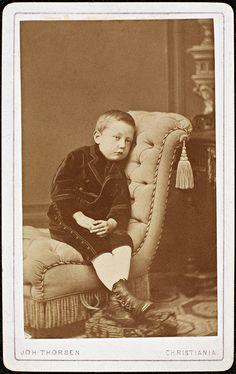 Roald Amundsen as a boy