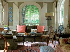 Traditional Living-rooms from Cathy Kincaid on HGTV