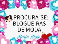 Para participar, o blog deve obrigatoriamente falar sobre moda. Quer participar de nossa seleção, envie seu mídia kit do blog e boa sorte!!! contato@mariamoleweb.com.br