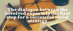 The dialogue between the involved experts is one of the most important step for a successful #SocialMediaStrategy 📲📊 #ContentStrategy #SocialMediaMarketing