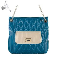 Grace Adele Spring 2014...pretty teal quilted bag combo Last chance for Grace Adele! Items up to 60% off. https://delanie.graceadele.us