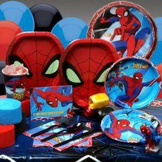 allestimento compleanno spiderman - Cerca con Google