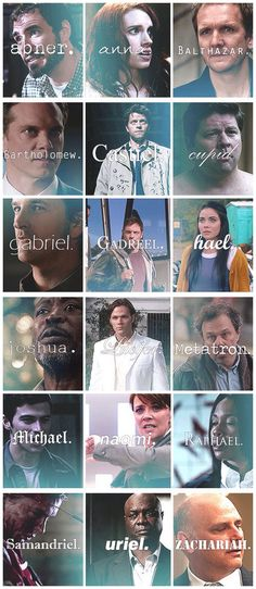 Angels of SPN