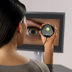 The Eye Scanning Password Authenticator - Hammacher Schlemmer