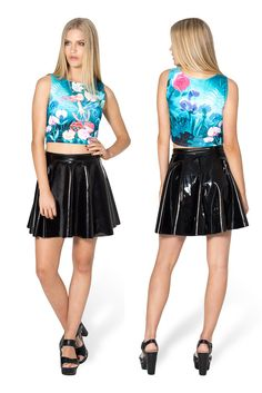 Wonderland Wifey Top by Black Milk Clothing $60AUD