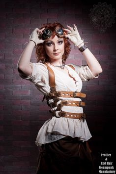 steampunk girl costume - Buscar con Google