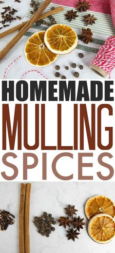 These DIY mulling sp