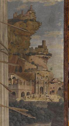 Andrea Mantegna - St. Sebastian (detail), 1480. | Louvre
