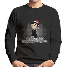 Punisher Hey Dirtbag Merry Christmas Men's Sweatshirt