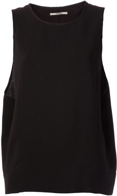 Love this: Draped Side Blouse @Lyst