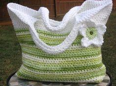 Spring Fling Bag Crochet Pattern Pdf by nutsaboutknitting on Etsy, $3.99