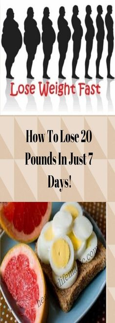 How To Lose 20 Pounds In Just 7 Days! | Healthy Life Magic