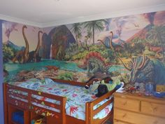 dinosaur wall murals for kids - Google Search