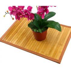Mini alfombra de bambú 50x35 cm
