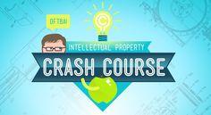 """CrashCourse ensina """"propriedade intelectual"""" e é uma delicia assistir - http://www.showmetech.com.br/videos-abordam-propriedade-intelectual-de-forma-didatica/"""