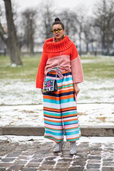 Puffers Were a Street Style Essential On Day 3 of Paris Fashion Week