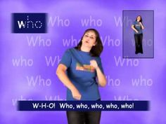 The lyrics on this Kindergarten Sight Word song get straight to the point: W-H-O. Who, who, who, who, who? What more does a spelling song need? The children ...