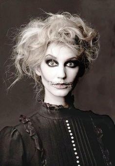 halloween ghost makeup ideas
