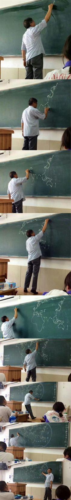 El mejor profe de geografía