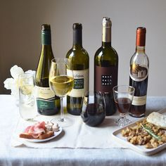 Food wine pairing dinner - could be a fun dinner party!