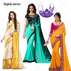 Transcendentally gorgeous is what you will certainly look at your friend's wedding draped in these sarees ! Shop them here: http://www.voonik.com/collections/objects-of-desire