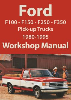 Ford F Series F F Workshop Manual
