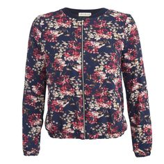 Olive & Oak NYC  Find this navy floral sports jacket this Fall at Habit, TJ Maxx, Bon Ton and many more!