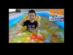 3000 Bunch O Balloons Kids Inflatable Pool Water Fight Fun Surprise Toys...