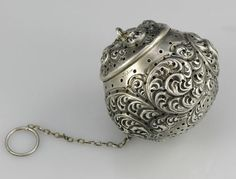 Large Gorham Sterling Tea Ball
