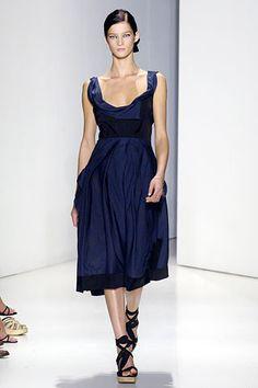 Donna Karan Spring 2006 Ready-to-Wear Fashion Show - Marta Berzkalna