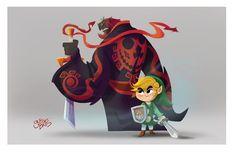ArtStation - The Legend of Zelda Windwaker fan art, Gus Batts