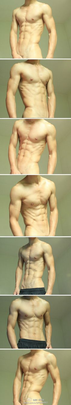 Male figure reference