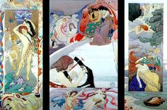 The Athenaeum - The Legend of Orpheus (John McKirdy Duncan - ) Artist Art, Artist At Work, Renaissance, Fairy Music, John Duncan, Art Magique, Art Competitions, Pre Raphaelite, Celtic Art