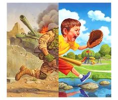 War And Peace Political Satire Illustrations By Anthony Freda - Satirical illustrations anthony freda