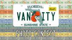 Submit your vanity license plate photo to win really great prizes.