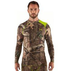 e4d3da85d64 Amazon.com   Under Armour UA Scent Control HeatGear SM Mossy Oak Obsession    Sports   Outdoors