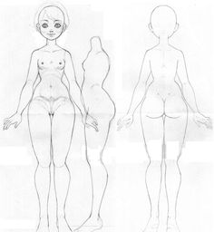 ball jointed doll drawings - Google Search