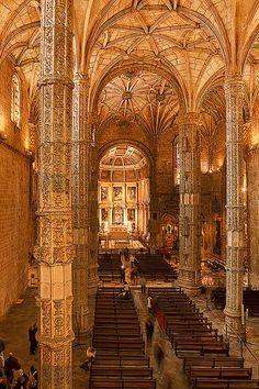 Mosteiro dos Jerónimos . Portugal